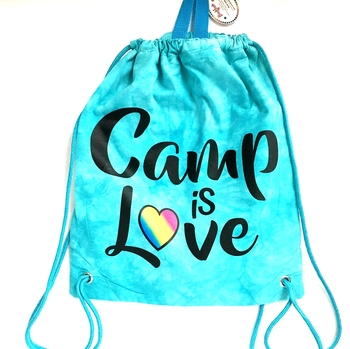 Image Camp is Love Jersey Sling Bag