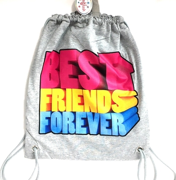 Image Best Friends Forever Jersey Sling Bag