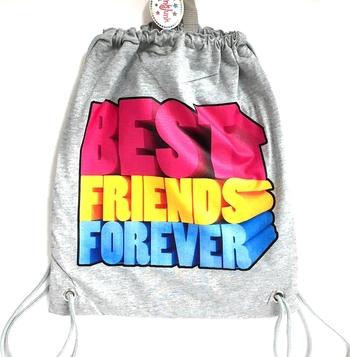 Image Best Friends Forever Jersey Sling Bag