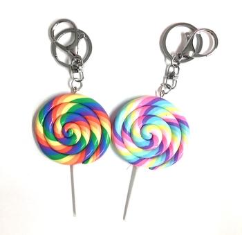Image Lollipop Keychain