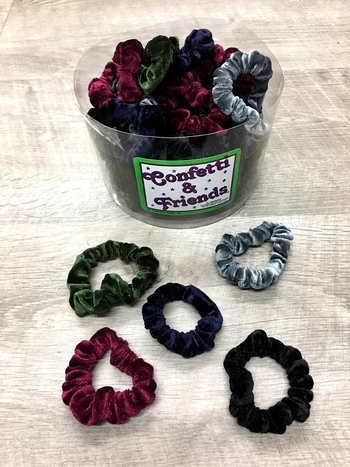 Image Mini Velvet Scrunchie