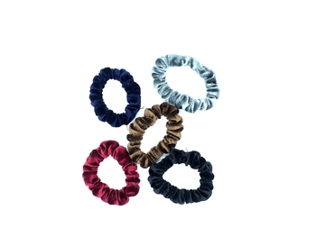Image Mini Velvet Scrunchies