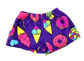 Image Carnival Fuzzy Pajama Shorts