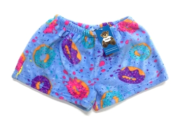 Image Delish Donuts Fuzzie Shorts