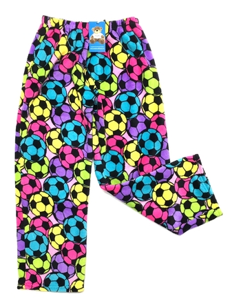 Image Pastel Soccer Fuzzie Pant