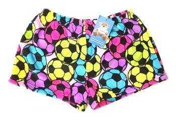 Image Pastel Soccer Fuzzie Short