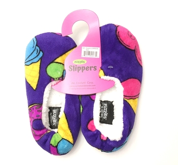 Image Carnival Fuzzie Slippers