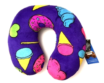 Image Carnival Fuzzie Neck Roll Pillow