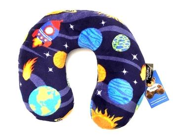 Image Solar Fuzzie Neck Roll Pillow