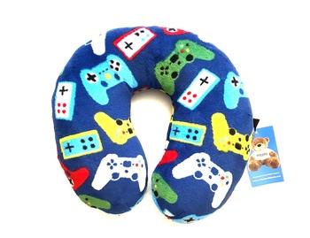 Image Gamer Fuzzie Neck Roll Pillow