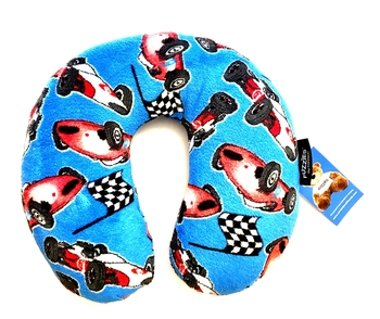 Image Racing Car Fuzzie Neck Roll Pillow