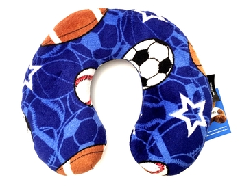 Image Sports on Sports Fuzzie Neck Roll Pillow