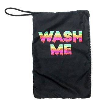 Image Wash Me Mesh Sock Bag