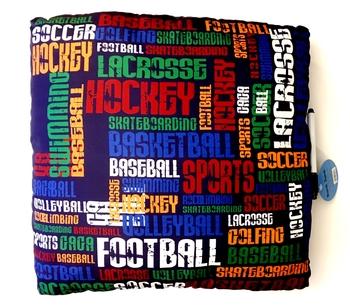 Image Sport Graffiti Autograph Pillow