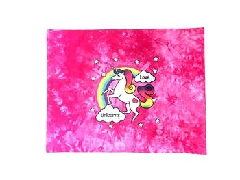 Image Unicorn Love  Autograph Jersey Pillow Case