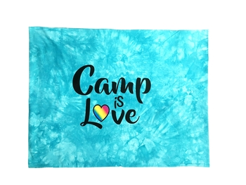 Image Camp is Love Autograph Jersey Pillow Case