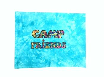 Image Camp Friends Tattoo Autograph Jersey Pillow Case