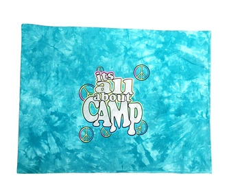 Image It's all about camp Autograph Jersey Pillow Case