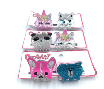Image Small Acrylic Animal Clips