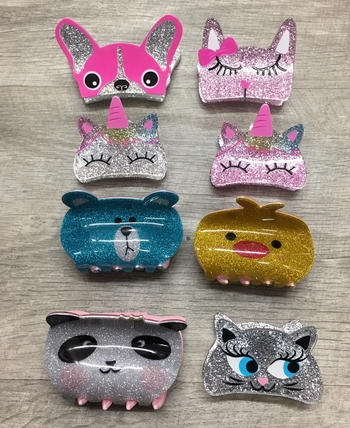 Image Large Acrylic Animal Clips