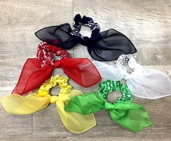 Image Color War Bandana Scarf Scrunchie