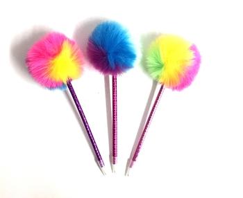Image Rainbow Pom Pen