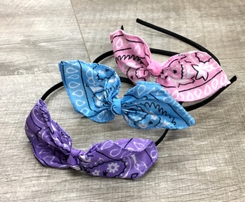 Image Pastel Bandana Tie Headband