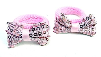 Image Sequin Bow Pony Pairs