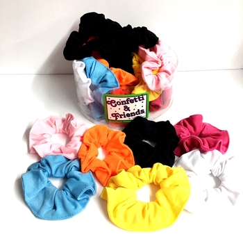 Image Jersey Scrunchie Brights