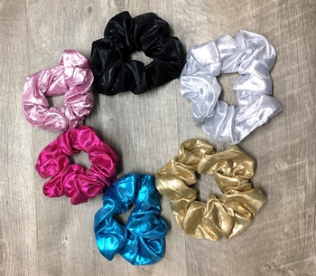 Image Metallic Scrunchie
