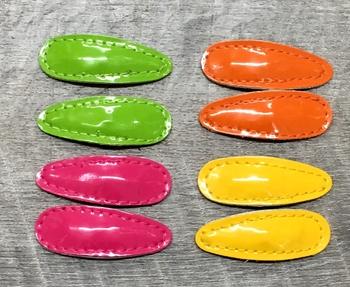 Image Patent Neon Clippie Pair