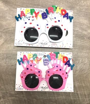 Image Happy Birthday Sunglasses