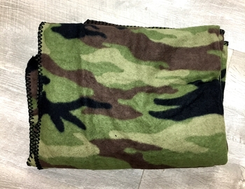 Image Camo Fleece Blanket