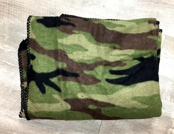 Image Camo Fleece Blanket
