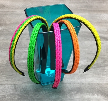 Image Neon Braided Headband