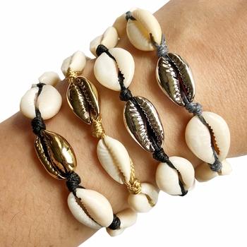 Image Metallic Shell Bracelets