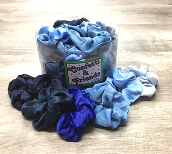 Image Denim Silky Scrunchie