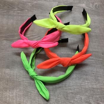 Image Neon Bow Headband