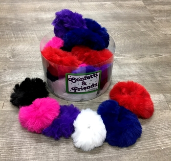 Image Faux Fur Scrunchies