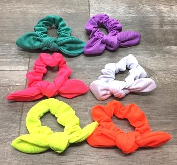 Image Neon Mesh Tie Scrunchie