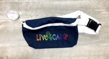 Image Live 4 Camp Denim Fanny Pack