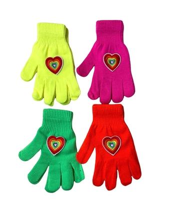 Image Puppy Rainbow Heart Gloves