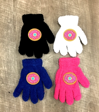 Image Child Size Donut Gloves