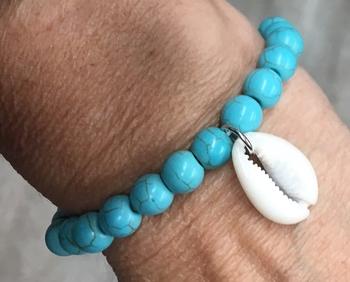 Image Shell Turquoise Bracelet