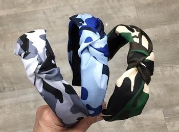 Image Camouflage Knot Headband
