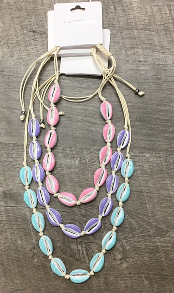 Image Pastel Shell all around Necklace
