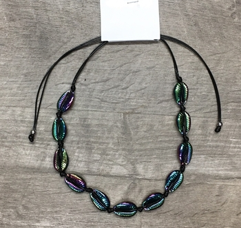 Image Black Rainbow All around Necklace