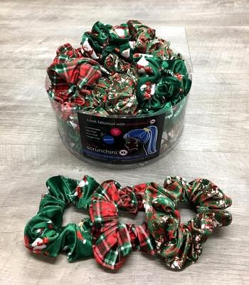 Image Christmas Velvet Scrunchies