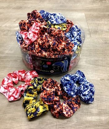 Image School Tye Dye Color Scrunchies