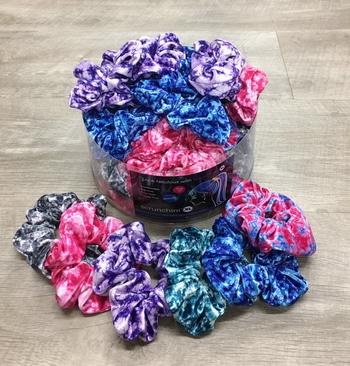 Image Crunch Dye Velvet Scrunchie